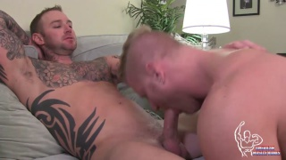 Dylan James fucks johnny v