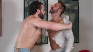 office alpha male dominates his boss