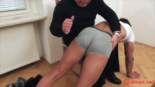 spanking Ennio Guardi's hot butt