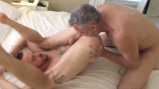 riley gets his hairy ass fucked hard