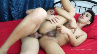 horny asian lads in raw fucking session