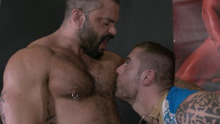 Rogan Richards fucks Isaac Eliad