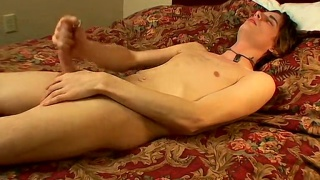 horny young lad with balls full of cum