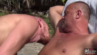 billy warren gets fucked by big-dicked daddy