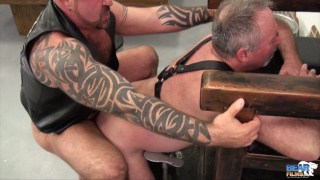marc angelo fucks big-bellied bear bo francis