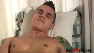 sexy lad matt richie jacks off