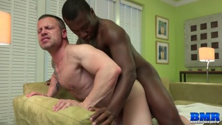 russ magnus swallows damien brooks hot black cock