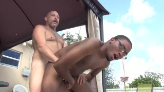 Donny Ray loves taking daddy dick