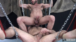 Marcus Isaacs bare fucks Matthieu Angel