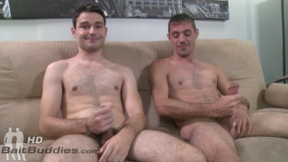straight guy takes huge cock ... yeah right, straight