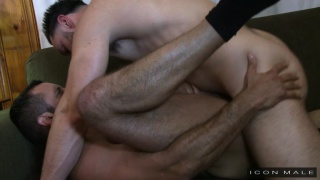 Nick Capra fucks Andrew Fitch in his black socks