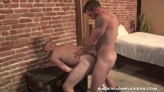 Morgan Black fucks James Roscoe