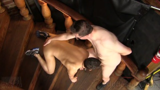 big-dicked jay shoves his raw meat into ryan cummings' ass