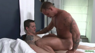 zach matthews gets fucked for the first time