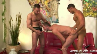 Spanish top Macanao Torres finds two warm holes to fuck