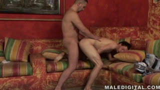 Twink has sex with an older guy