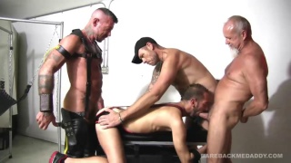 bareback orgy in ray dalton's playroom