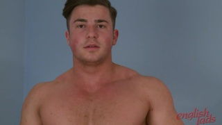 straight guy teddy's first massage & handjob