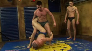 Wrestling and domination sex