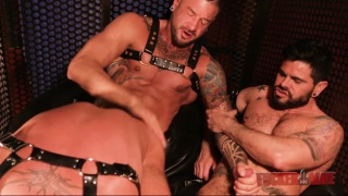 mario domenech services real-life lovers Dolf Dietrich and Hugh Hunter