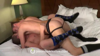 horny lads bareback in socks
