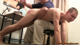 Naughty schoolboy gets paddled amp caned by hot female teacher - 2 part 1