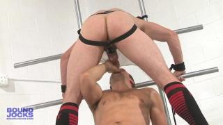 Connor Patricks tied up lucas knight in locker room