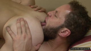 Wolf Hudson eats out Sean Cross' ass before fucking it