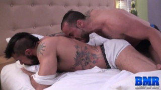aarin asker gets bare fucked by gabriel fisk