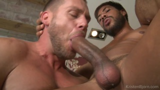 Hans Berlin invites Viktor Rom & Ansony up to his apartment