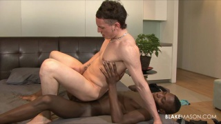 Interracial lovers fucking
