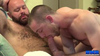 John Bedford's porn debut with luke harrington