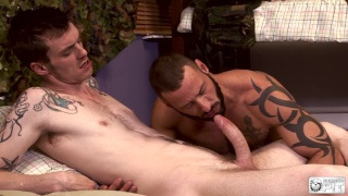 Antonio Miracle services AJ Alexander's big dick