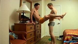 Jeremiah & Shane explore their underwear fetish