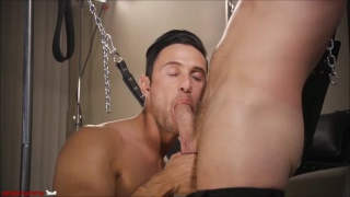 Brian Bonds fucks Josh Connors in his jockstrap