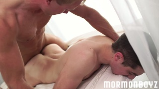 blond mormon hunk fucks his buddy