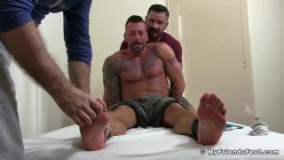 dolf dietrich tickles his naked lover Hugh Hunter