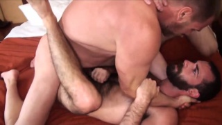 Bareback Cum Hounds with Hans Berlin and Stephen Harte