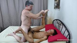daddy mike fucks Asian twink Jordan