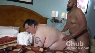 bearded top bear fucks a super chub