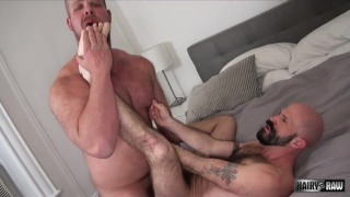 Bryan Knight and Mickey Carpathio flip fuck bare