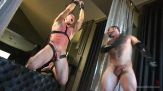 Jaxton Wheeler restrains and trains Alex Mecum