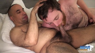 bearded young bear fucks the maintenance man