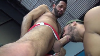 trey turner and milan gamiani fuck in the gym