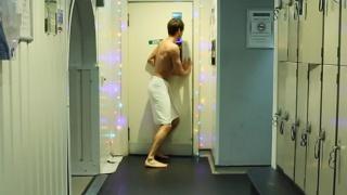 jaded narcissist who stalks the bathhouse halls