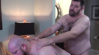 seven hot and horny bears suck and fuck