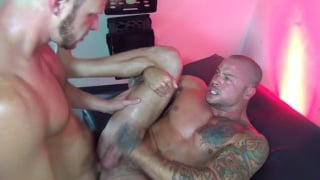 sean Duran and Brian Bonds fuck each other bare