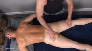 beefy hunk kodi gets a slippery massage