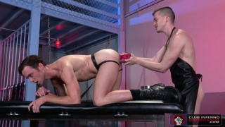 Brandon Moore & Axel Abysse at Club Inferno