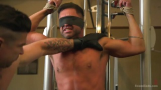 trenton ducati uses dominic pacifico in the gym